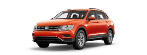 SUV with All Wheel Drive Tiguan