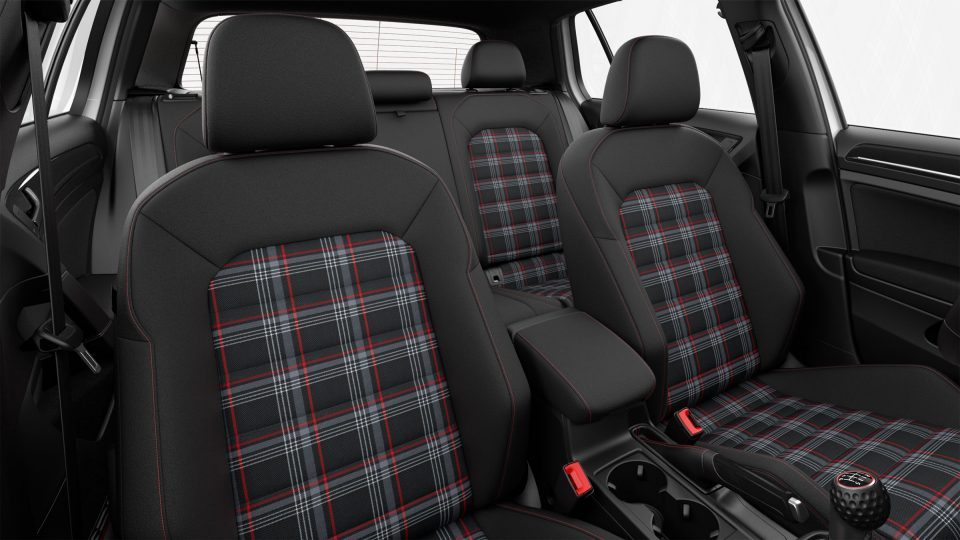2018 Golf GTI adjustable front seats